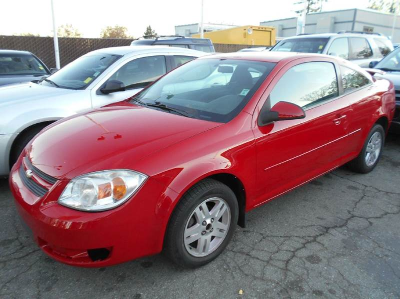 2005 CHEVROLET COBALT LS 2DR COUPE red abs - 4-wheel clock cruise control daytime running ligh