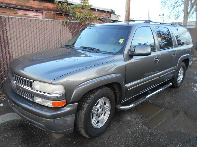 2001 CHEVROLET SUBURBAN 1500 LT 2WD 4DR SUV gray abs - 4-wheel anti-theft system - alarm axle r