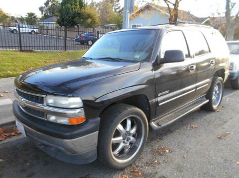 2001 Chevrolet Tahoe for sale at Crow`s Auto Sales in San Jose CA