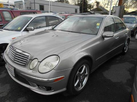 2005 Mercedes-Benz E-Class for sale at Crow`s Auto Sales in San Jose CA