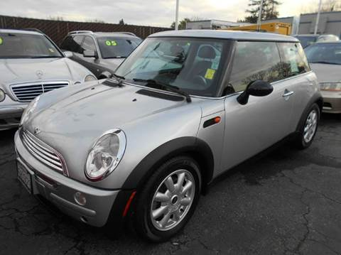 2004 MINI Cooper for sale at Crow`s Auto Sales in San Jose CA