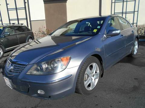 2005 Acura RL for sale at Crow`s Auto Sales in San Jose CA
