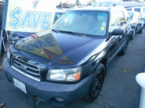 2005 Subaru Forester for sale at Crow`s Auto Sales in San Jose CA