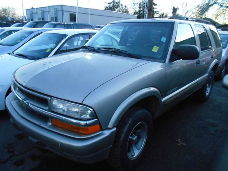 2002 CHEVROLET BLAZER LS 2WD 4DR SUV silver abs - 4-wheel anti-theft system - alarm axle ratio