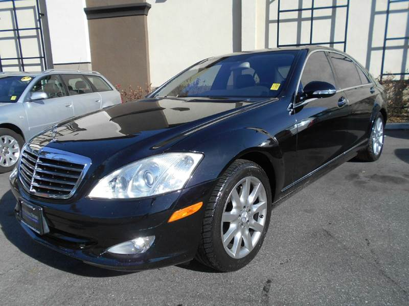 2007 MERCEDES-BENZ S-CLASS S550 4DR SEDAN black 2-stage unlocking doors abs - 4-wheel active he