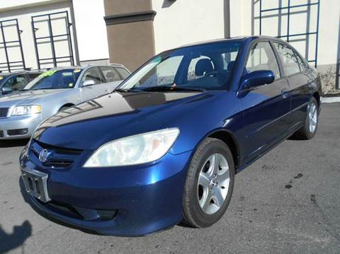 2004 Honda Civic for sale at Crow`s Auto Sales in San Jose CA