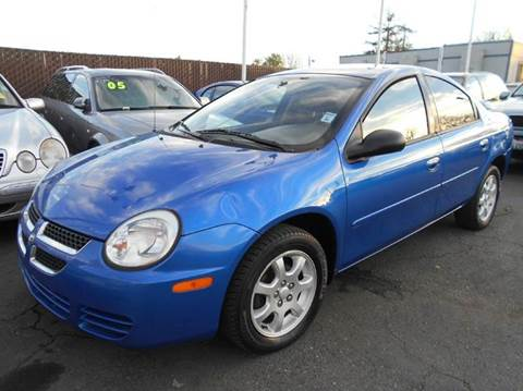 2005 Dodge Neon for sale at Crow`s Auto Sales in San Jose CA