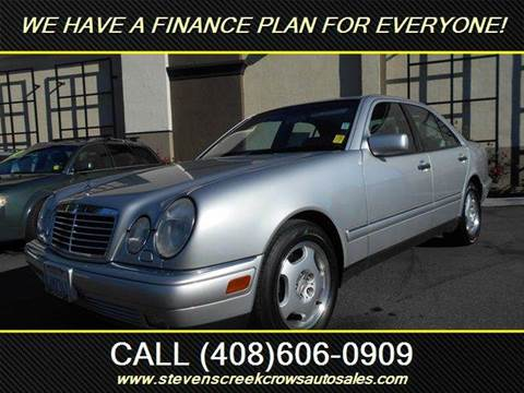1998 Mercedes-Benz E-Class for sale at Crow`s Auto Sales in San Jose CA