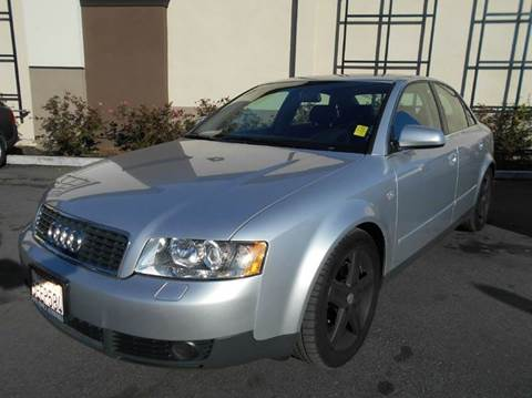 2003 Audi A4 for sale at Crow`s Auto Sales in San Jose CA