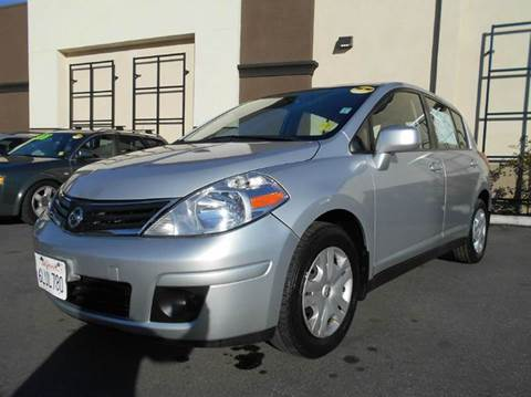 2010 Nissan Versa for sale at Crow`s Auto Sales in San Jose CA