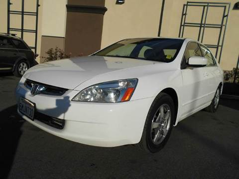2005 Honda Accord for sale at Crow`s Auto Sales in San Jose CA