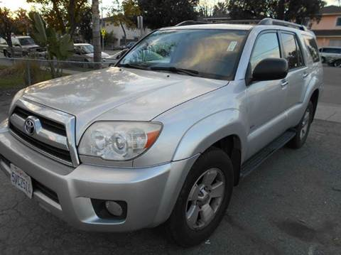 2006 Toyota 4Runner for sale at Crow`s Auto Sales in San Jose CA