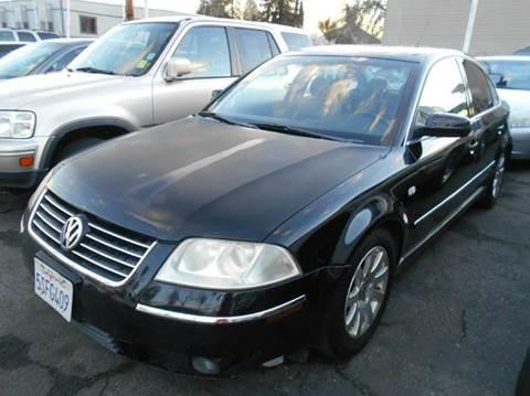2001 Volkswagen Passat for sale at Crow`s Auto Sales in San Jose CA