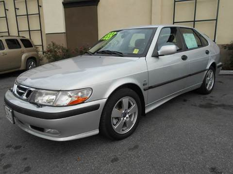 2002 Saab 9-3 for sale at Crow`s Auto Sales in San Jose CA
