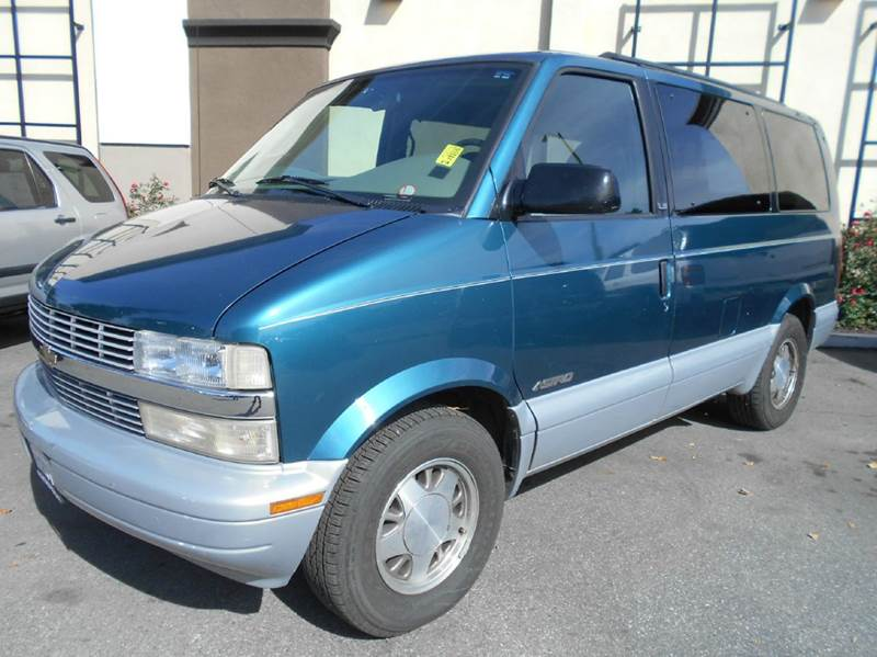 1998 CHEVROLET ASTRO LS 3DR EXTENDED MINI VAN green abs - 4-wheel cruise control exterior entry