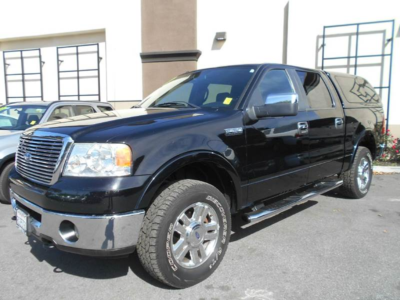 2007 FORD F-150 XLT 4DR SUPERCREW 4WD STYLESIDE black 2-stage unlocking doors 4wd type - part ti
