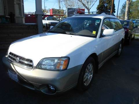 2001 Subaru Outback for sale at Crow`s Auto Sales in San Jose CA