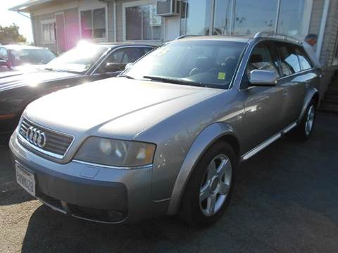 2005 Audi Allroad Quattro for sale at Crow`s Auto Sales in San Jose CA