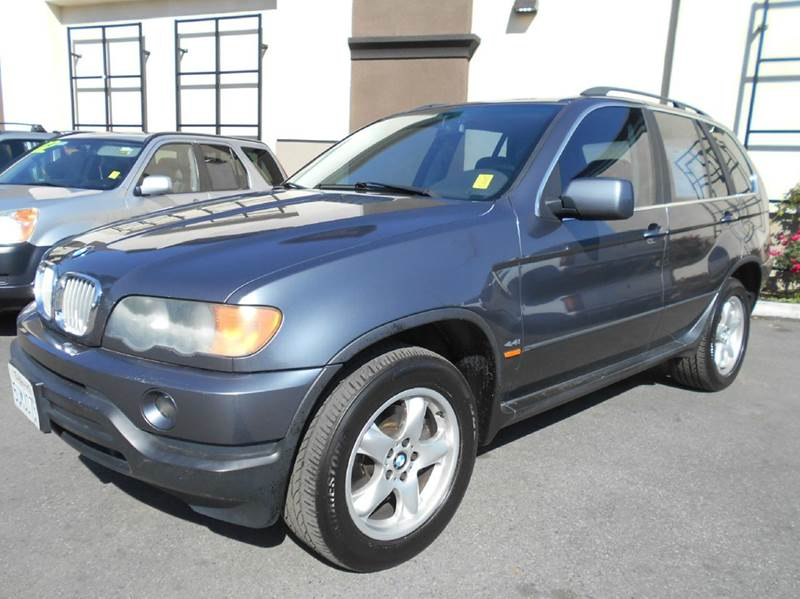 2003 BMW X5 44I AWD 4DR SUV charcoal abs - 4-wheel air suspension - rear anti-theft system - a