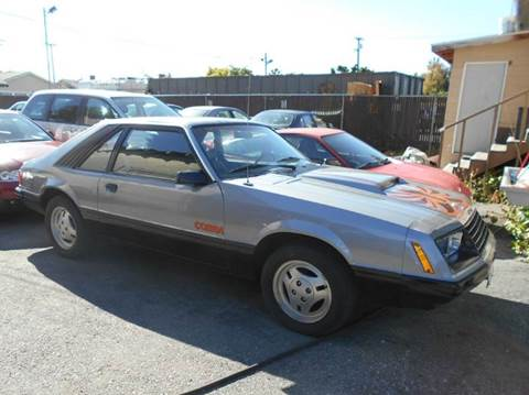 1979 Ford Mustang for sale at Crow`s Auto Sales in San Jose CA