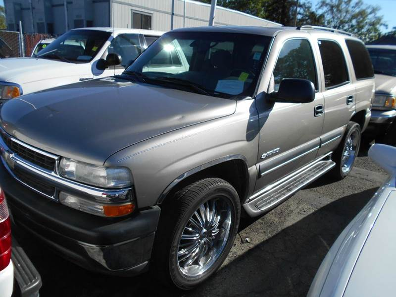 2003 CHEVROLET TAHOE LS 4DR SUV silver abs - 4-wheel anti-theft system - alarm axle ratio - 34
