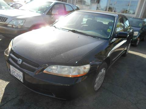 1998 Honda Accord for sale at Crow`s Auto Sales in San Jose CA
