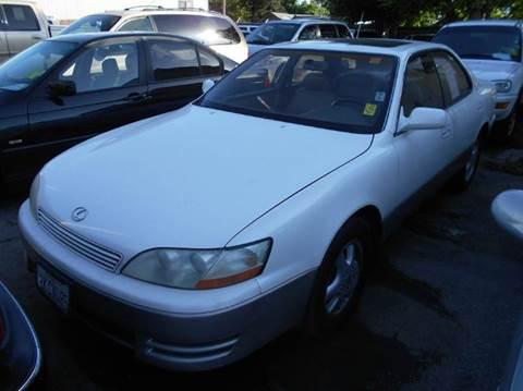 1994 Lexus ES 300 for sale at Crow`s Auto Sales in San Jose CA