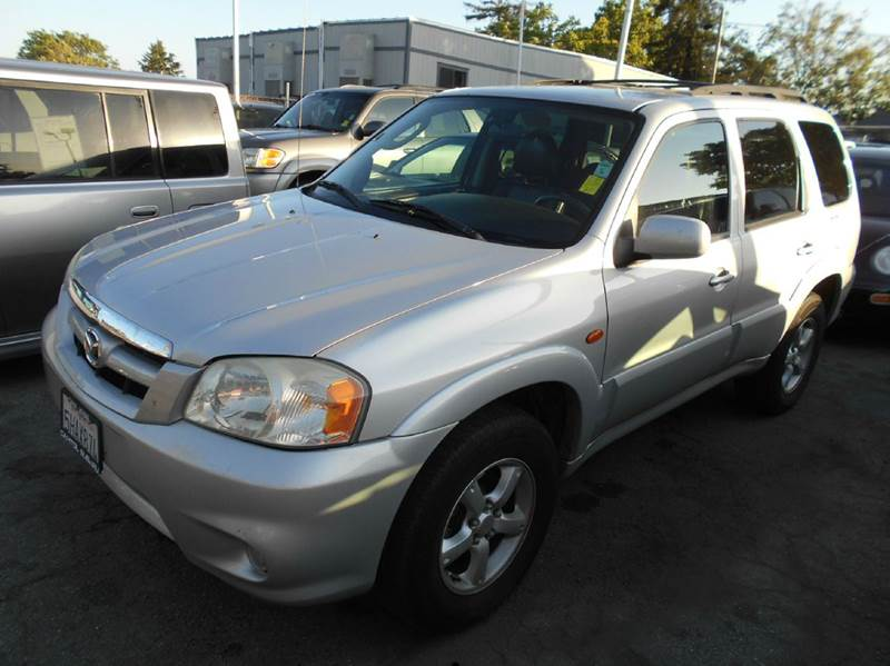 2005 MAZDA TRIBUTE S 4DR SUV silver abs - 4-wheel center console - front console with storage c