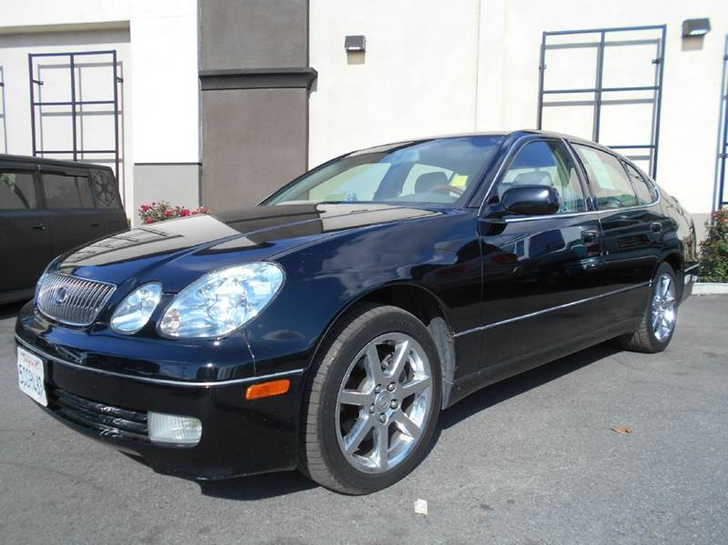 2003 LEXUS GS 430 BASE 4DR SEDAN black abs - 4-wheel anti-theft system - alarm cd changer cent