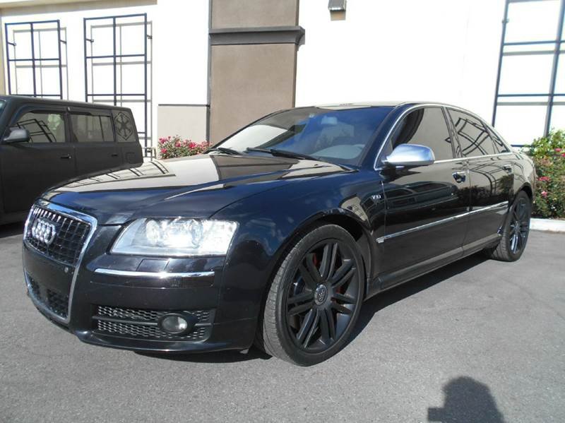 2007 AUDI S8 QUATTRO AWD 4DR SEDAN black 2-stage unlocking doors 4wd type - full time abs - 4-w