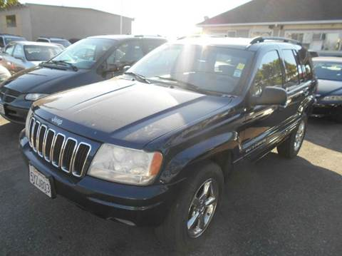 2002 Jeep Grand Cherokee for sale at Crow`s Auto Sales in San Jose CA