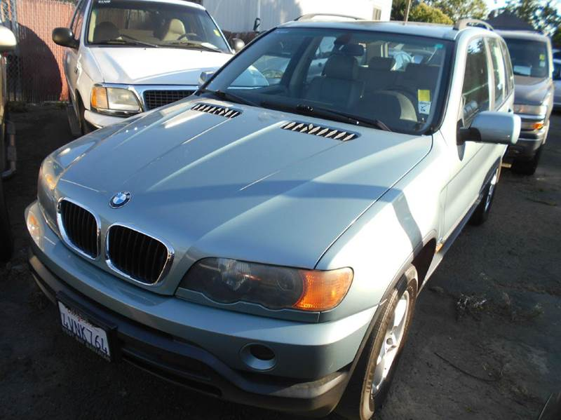 2002 BMW X5 30I AWD 4DR SUV green abs - 4-wheel anti-theft system - alarm center console cloc