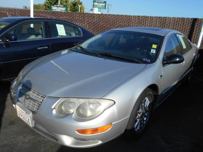 2001 CHRYSLER 300M BASE 4DR SEDAN silver abs - 4-wheel anti-theft system - alarm cassette cent
