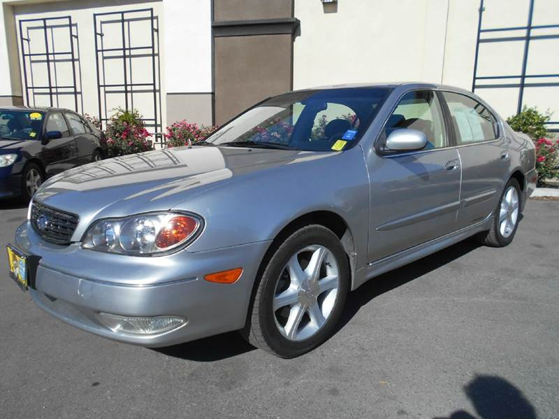 2004 INFINITI I35 BASE 4DR SEDAN silver abs - 4-wheel anti-theft system - alarm center console