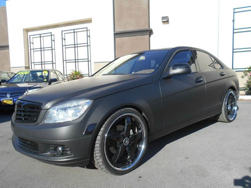 2008 MERCEDES-BENZ C-CLASS C300 SPORT 4DR SEDAN gray abs - 4-wheel active head restraints - dual