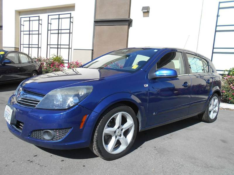 2008 SATURN ASTRA XR 4DR HATCHBACK blue 2-stage unlocking doors abs - 4-wheel airbag deactivati
