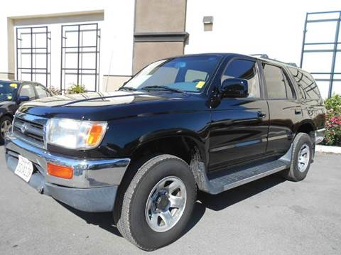 1996 Toyota 4Runner for sale at Crow`s Auto Sales in San Jose CA