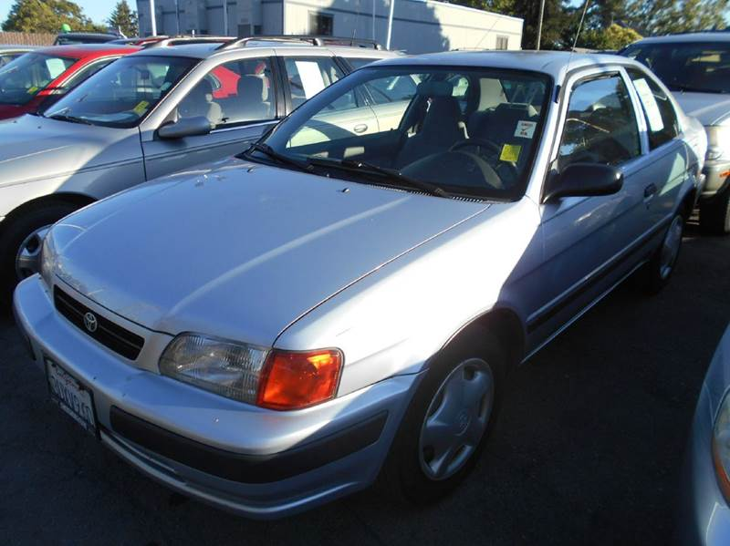 1997 TOYOTA TERCEL CE 2DR COUPE silver front airbags - dual front seat type - bucket power brak