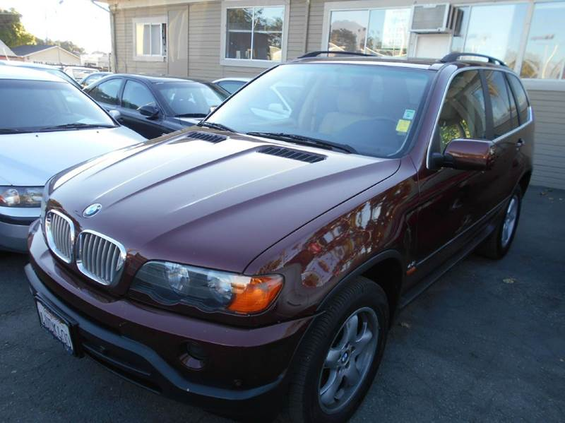 2001 BMW X5 44I AWD 4DR SUV maroon abs - 4-wheel air suspension - rear anti-theft system - ala