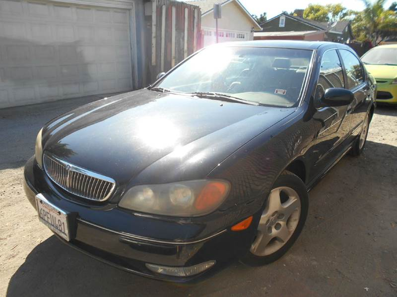 2001 INFINITI I30 TOURING 4DR SEDAN black abs - 4-wheel anti-theft system - alarm cassette cen