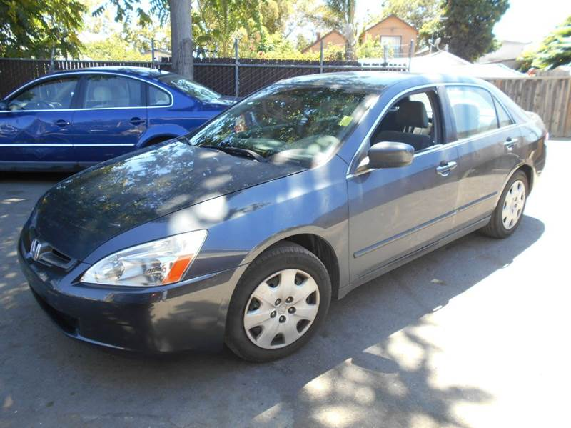 2003 HONDA ACCORD LX V-6 4DR SEDAN charcoal abs - 4-wheel anti-theft system - alarm center cons