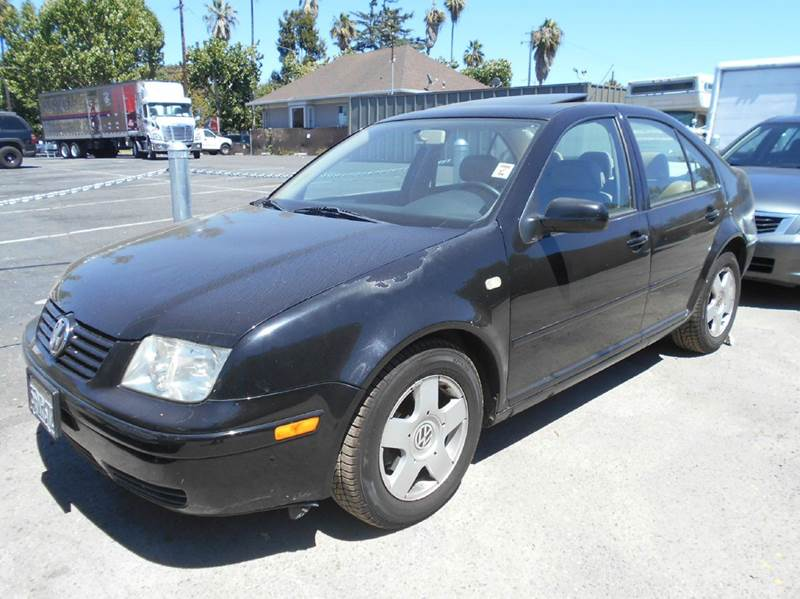 1999 VOLKSWAGEN JETTA GLS 4DR NEW SEDAN black abs - 4-wheel anti-theft system - alarm cassette
