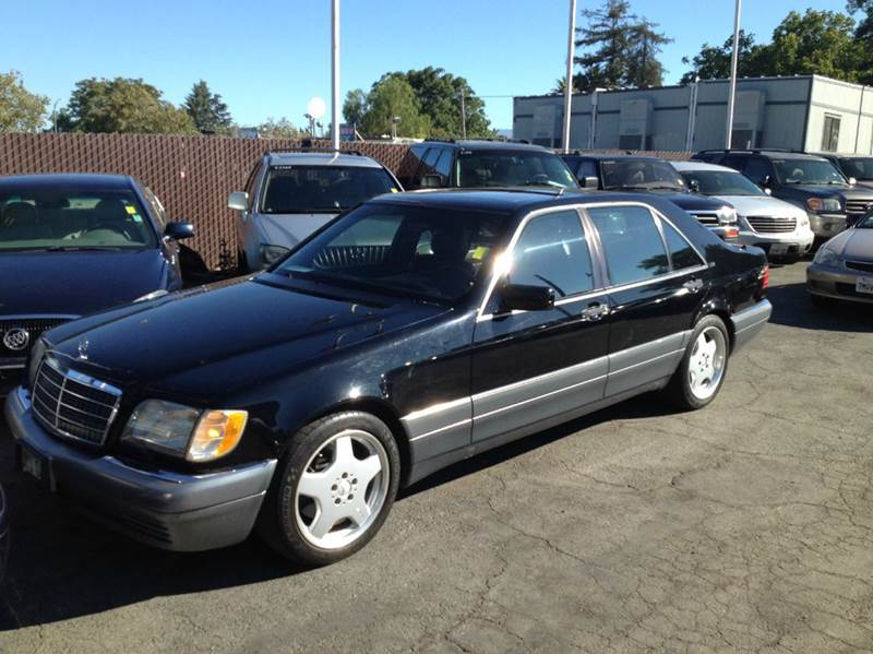 1996 MERCEDES-BENZ S-CLASS S600 4DR SEDAN black abs - 4-wheel antenna type - power anti-theft s