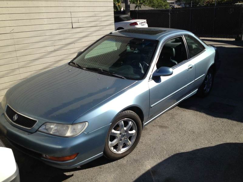 1998 ACURA CL 30 PREMIUM 2DR COUPE blue abs - 4-wheel anti-theft system - alarm center console