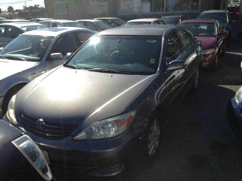 2002 TOYOTA CAMRY XLE 4DR SEDAN charcoal 16 inch wheels abs - 4-wheel anti-theft system - alarm