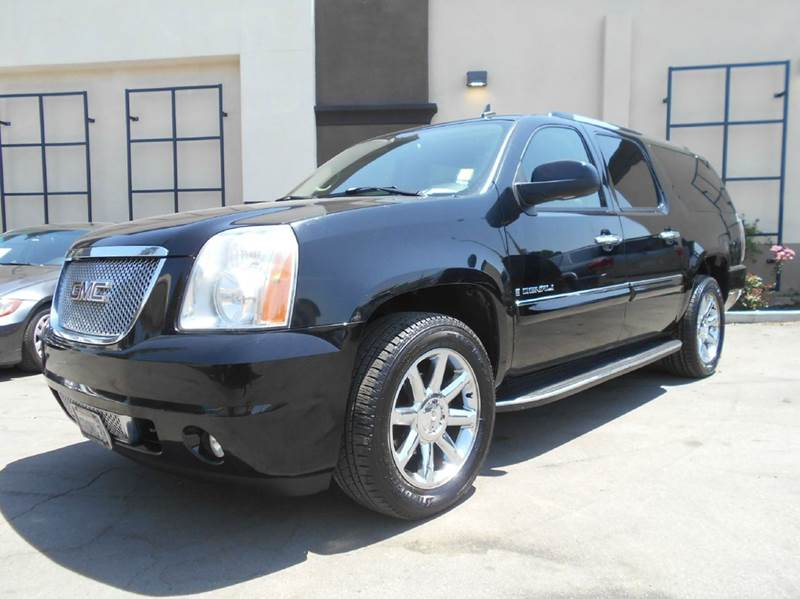 2007 GMC YUKON XL DENALI AWD 4DR SUV black 2-stage unlocking doors 4wd type - full time abs - 4
