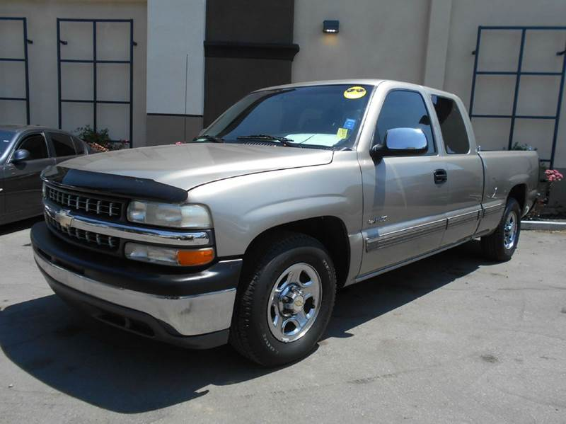 2002 CHEVROLET SILVERADO 1500 BASE 4DR EXTENDED CAB 2WD SB gold abs - 4-wheel anti-theft system