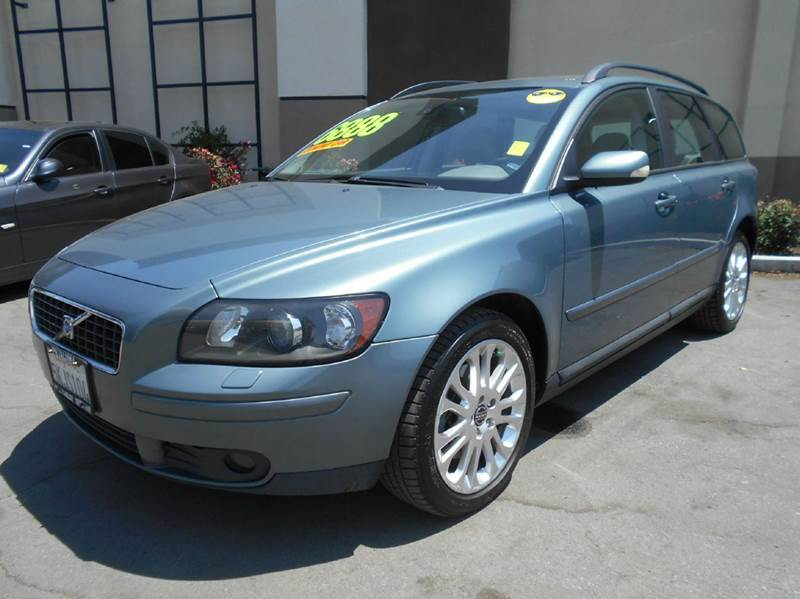 2005 VOLVO V50 T5 AWD 4DR TURBO WAGON green abs - 4-wheel anti-theft system - alarm center cons