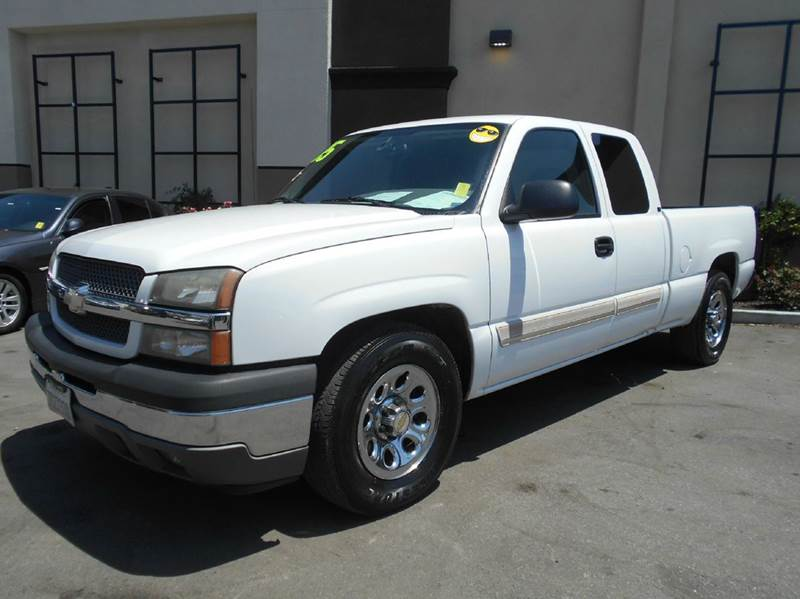 2005 CHEVROLET SILVERADO 1500 WORK TRUCK 4DR EXTENDED CAB RWD white abs - 4-wheel axle ratio - 3
