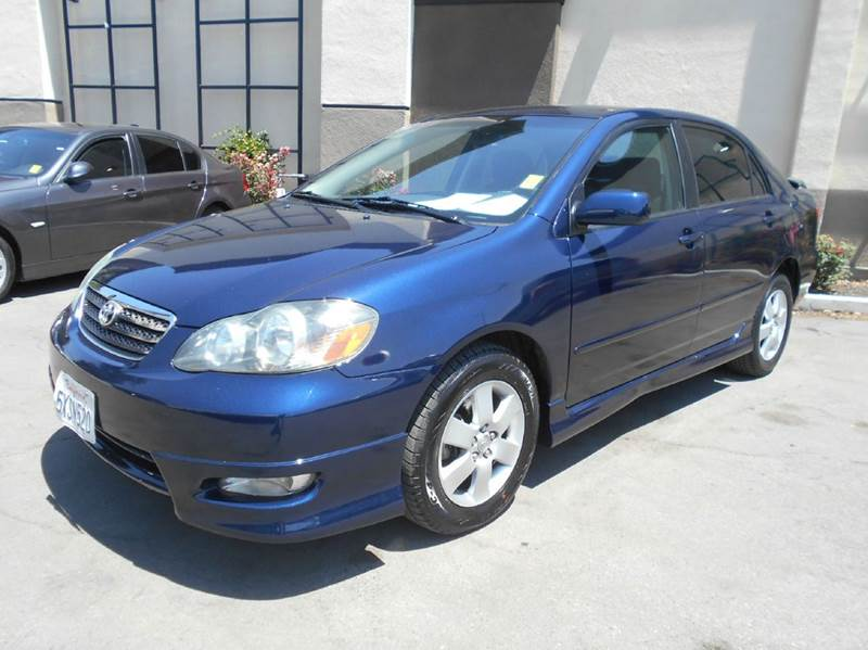 2007 TOYOTA COROLLA CE 4DR SEDAN 18L I4 4A blue air filtration antenna type - element anti-t